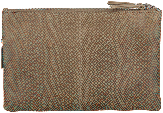 Taupe LOULOU ESSENTIELS Clutch 04CLUTCHM QUEEN  - large