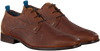 Cognacfarbene REHAB Business Schuhe GREG WALL 02 - small