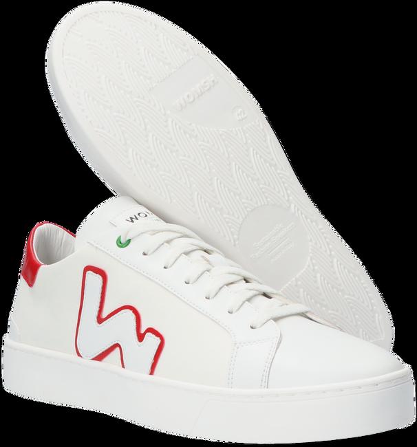Weiße WOMSH Sneaker low VEGAN SNIK  - large