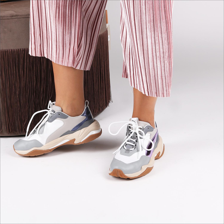 Weiße PUMA Sneaker THUNDER ELECTRIC - Omoda
