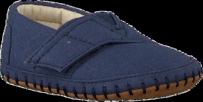 Blue TOMS shoe CRIB ALPARGATA  - large