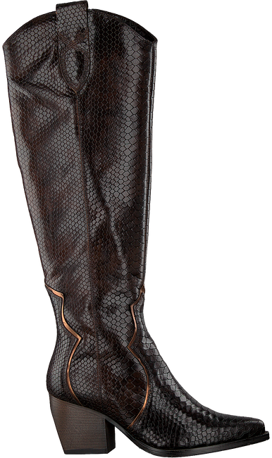 Braune VERTON Hohe Stiefel 667-007  - large