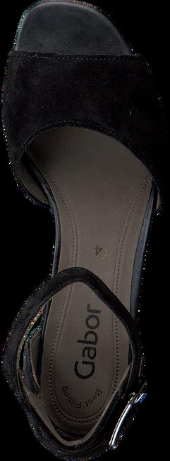 Schwarze GABOR Sandalen 723 - large