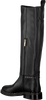 Schwarze NOTRE-V Hohe Stiefel B4253  - small