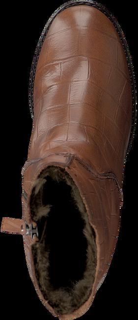 Cognacfarbene FRED DE LA BRETONIERE Stiefeletten 113080 - large