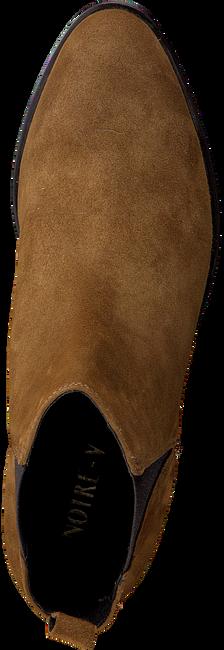 Cognacfarbene NOTRE-V Stiefeletten 42403  - large