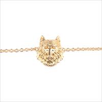 Goldfarbene ALLTHELUCKINTHEWORLD Armband SOUVENIR EARRINGS WOLF - medium