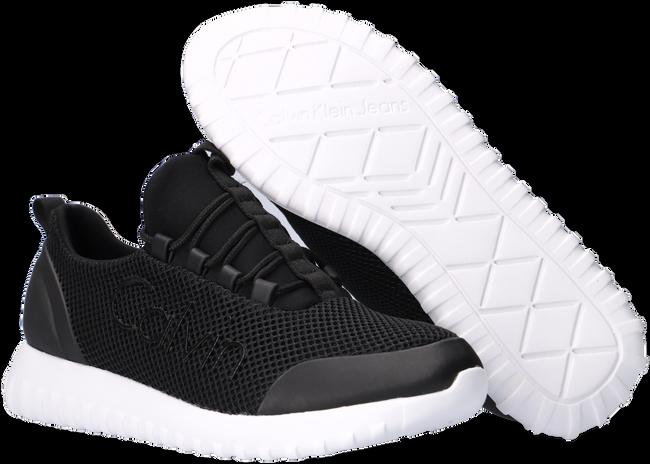 Schwarze CALVIN KLEIN Sneaker low RUNNER SNEAKER LACEUP MESH  - large
