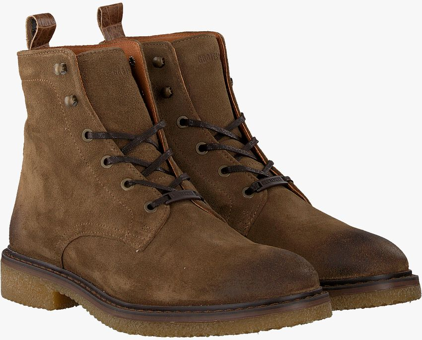Taupe GROTESQUE Schnürboots BUCKO 2  - larger