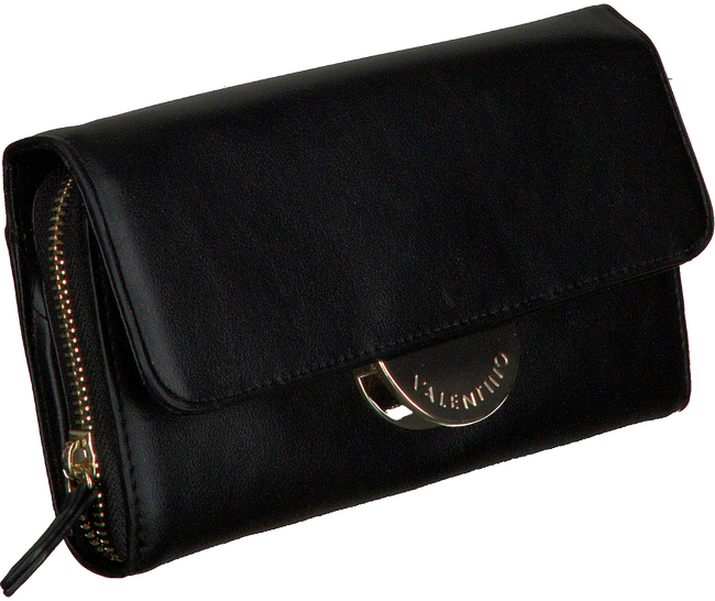 Schwarze VALENTINO HANDBAGS Portemonnaie WALLET WITH SHOULDER STRAP  - large