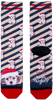 Mehrfarbige/Bunte XPOOOS Socken 70159  - small