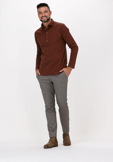 Braune DESOTO Polo-Shirt POLO CASUAL  - large