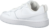 Weiße NIKE Sneaker low COURT BOROUGH LOW 2 (GS)  - small