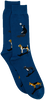 Blaue Alfredo Gonzales Socken DOGS  - small