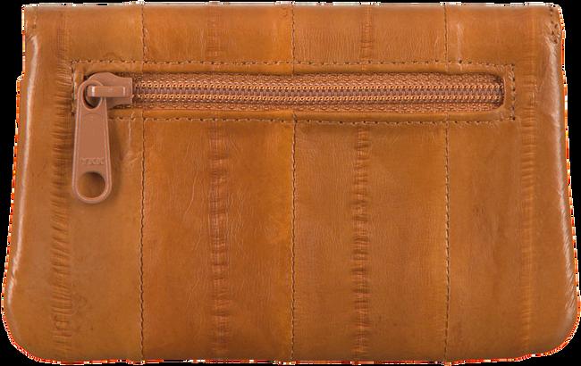 Cognacfarbene BECKSONDERGAARD Portemonnaie HANDY RAINBOW AW19  - large