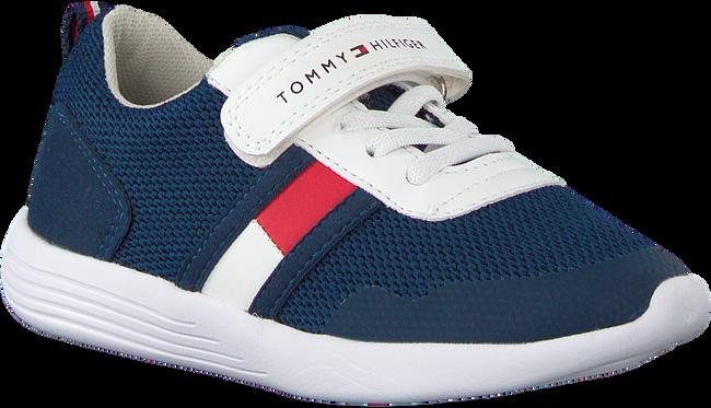 Blaue TOMMY HILFIGER Sneaker LOW CUT LACE UP/VELCRO  - large