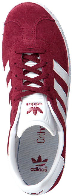 Rote ADIDAS Sneaker GAZELLE J - large