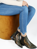 Gelbe DEABUSED Chelsea Boots 7001 - small