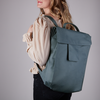 Blaue MYOMY Rucksack MY HOME BAG BACKBAG  - small