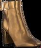 Goldfarbene TOMMY HILFIGER Stiefeletten SQUARE TOE  - small