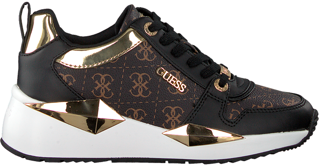 Braune GUESS Sneaker low TALLYN  - large