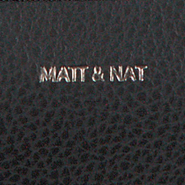 Schwarze MATT & NAT Umhängetasche TRIPLET CROSSBODY  - large