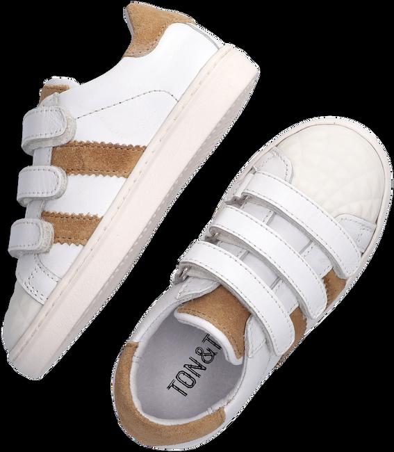 Weiße TON & TON Sneaker low E1835-212  - large