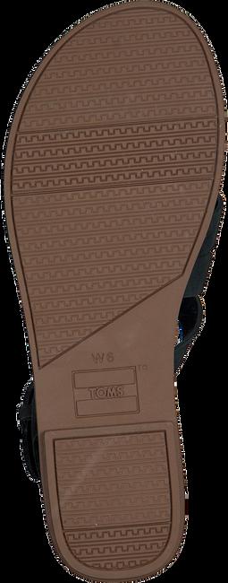 Schwarze TOMS Sandalen WM SICILY SAND  - large