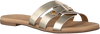 Goldfarbene OMODA Pantolette 179854  - small