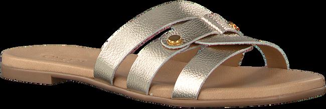 Goldfarbene OMODA Pantolette 179854  - large