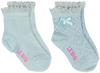 Blaue LE BIG Socken ISOLDE SOCK 2-PACK - small