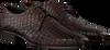 Braune MAZZELTOV Business Schuhe 3753  - small
