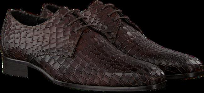 Braune MAZZELTOV Business Schuhe 3753  - large
