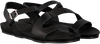 Schwarze RED RAG Sandalen 79208  - small