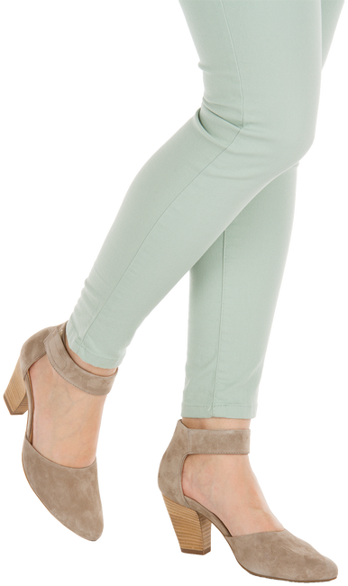 Taupe PAUL GREEN Pumps 3323 - large