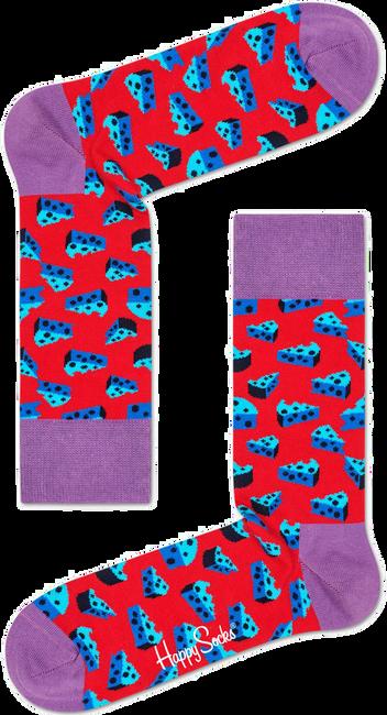 Rote HAPPY SOCKS Socken CHEESE - large