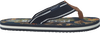 Blaue MCGREGOR Zehentrenner PALM BEACH - small