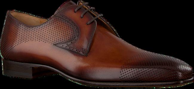Cognacfarbene MAGNANNI Business Schuhe 23063  - large