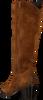 Cognacfarbene RED-RAG Hohe Stiefel 77004  - small