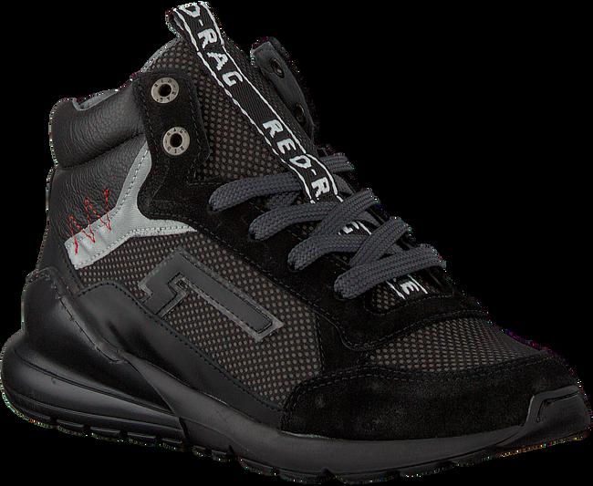 Schwarze RED-RAG Sneaker 13381  - large