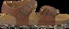 Cognacfarbene DEVELAB Sandalen 48075 - small
