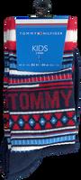 Rote TOMMY HILFIGER Socken TH KIDS SOCK 2P MULTI COLOR  - medium