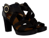 Schwarze PAUL GREEN Sandalen 6657 - small