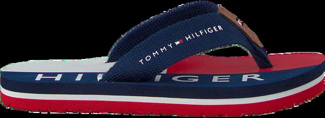 Blaue TOMMY HILFIGER Pantolette FLAG PRINT FLIP FLOP  - large