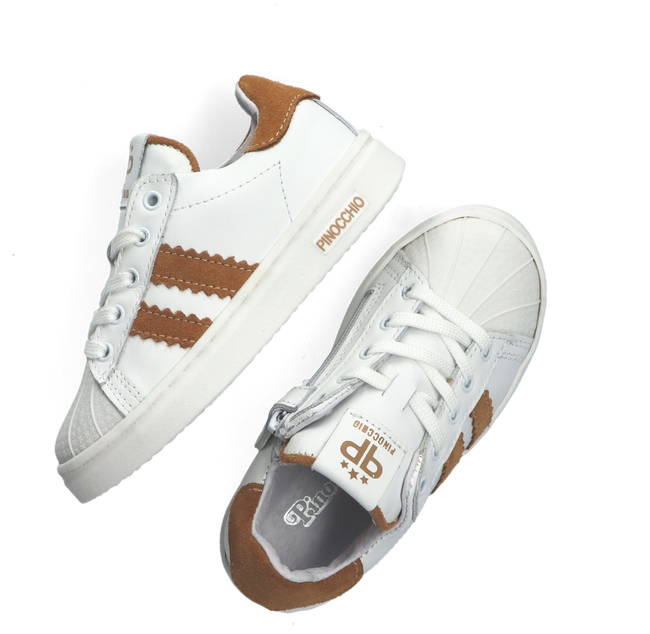 Weiße PINOCCHIO Sneaker low P1834  - large