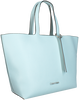 Blaue CALVIN KLEIN Shopper NEAT EW SHOPPER - small