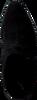 Schwarze LOLA CRUZ Stiefeletten 032T30BK-I18 - small