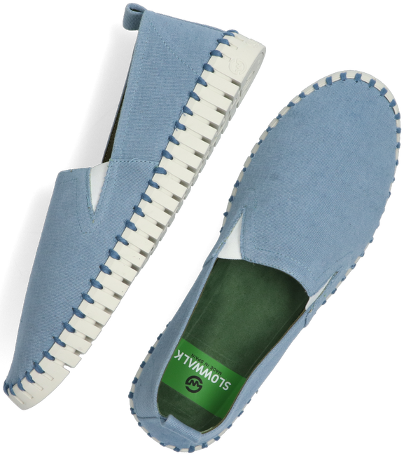 Blaue SLOWWALK Slipper BONES WOMEN  - large
