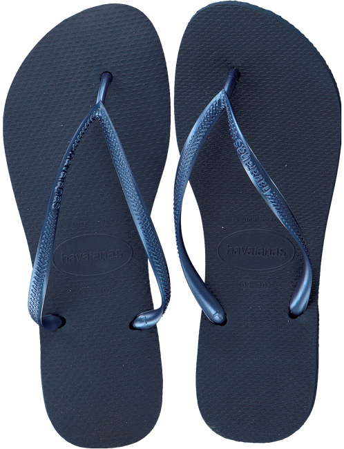 Blaue HAVAIANAS Zehentrenner SLIM WOMEN - large