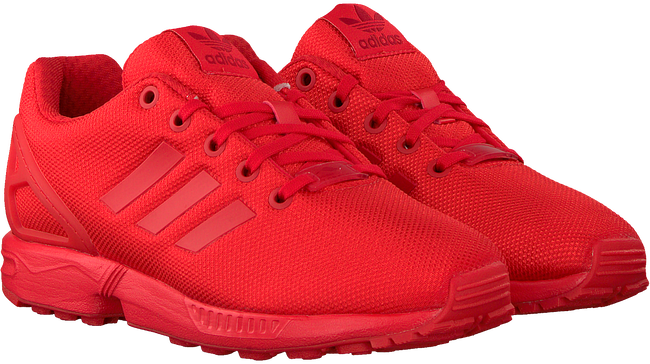 Rote ADIDAS Sneaker low ZX FLUX J  - large